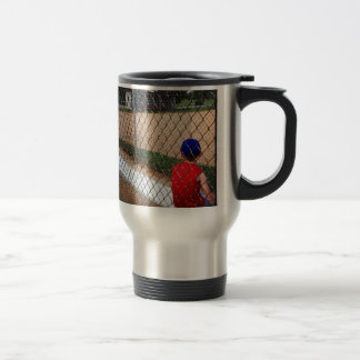 Waiting to play 15 oz stainless steel travel mug