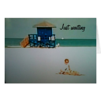 WAITING TO SHARE MY DAYS WITH YOU GREETING CARD