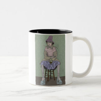 Waiting Two-Tone Coffee Mug