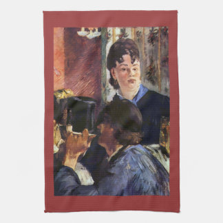 Waitress by Edouard Manet Hand Towels