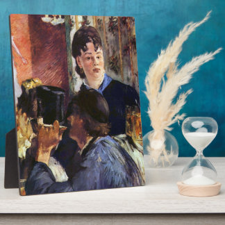 Waitress by Edouard Manet Plaque