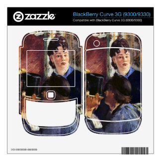 Waitress by Edouard Manet Decal For BlackBerry