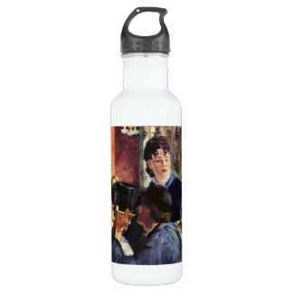 Waitress by Edouard Manet Stainless Steel Water Bottle