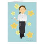 Waitress Card