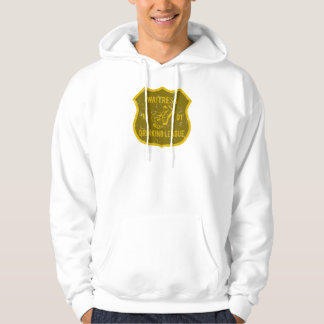 Waitress Drinking League Hoodie