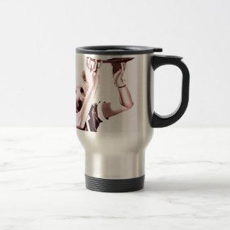 waitress Drinks Travel Mug