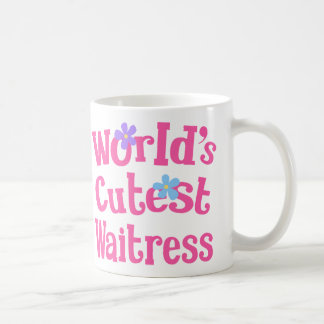 Waitress Gift Idea For Her (Worlds Cutest) Coffee Mug
