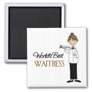 Waitress Gift Magnets
