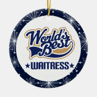 Waitress Gift Ornament