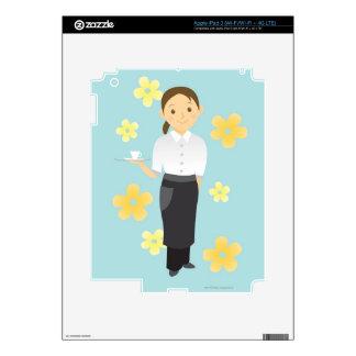 Waitress iPad 3 Decal