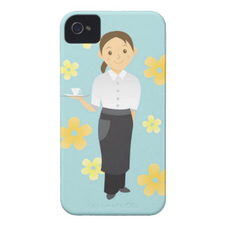 Waitress iPhone 4 Case-Mate Cases