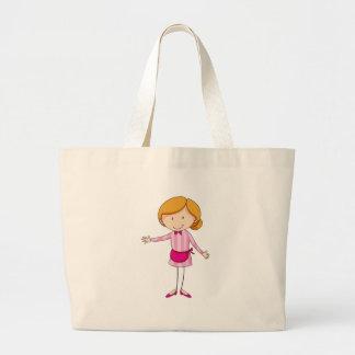 Waitress Jumbo Tote Bag