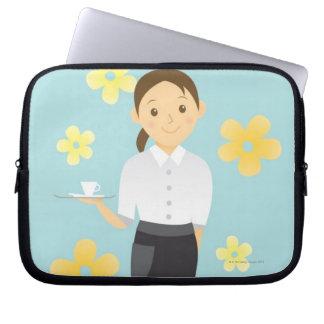 Waitress Laptop Sleeve