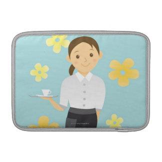Waitress MacBook Sleeves
