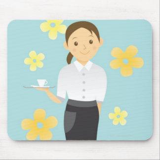 Waitress Mouse Pad