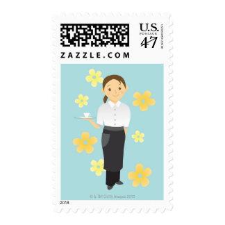 Waitress Postage
