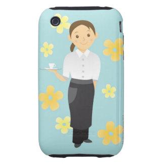 Waitress Tough iPhone 3 Cover