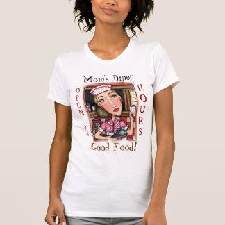 WaitressT-Camisa del comensal de la mamá divertida Remera