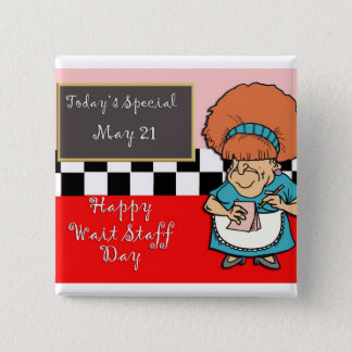 Waitstaff Day May 21 Button