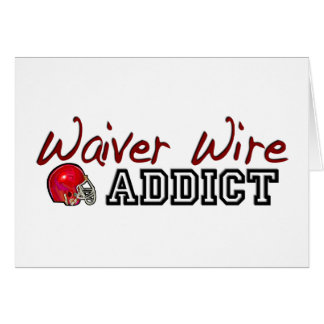 Waiver Wire Addict Card