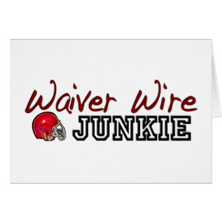 Waiver Wire Junkie Card