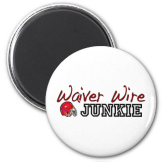 Waiver Wire Junkie Magnet