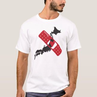 WAJ Heart Deserted Shirt ハート日本/切れてるシャツ