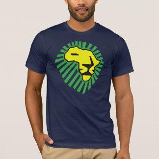 Waka waka Green Mane Yellow Lion Shirt
