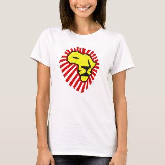 Waka Waka Red Mane Yellow Lion Africa Shirt
