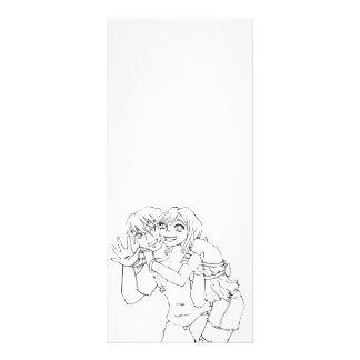 Wakaba and Arai Rack Card