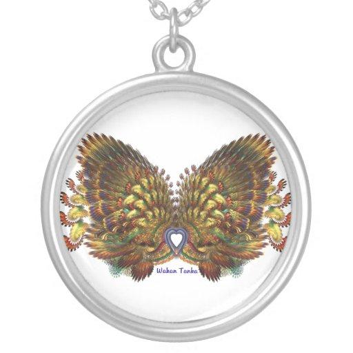 Wakan Tanka - Great Spirit Round Pendant Necklace