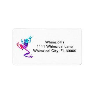 WakanaFrogPurpleBlue Label
