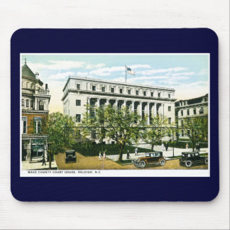 Wake County Courthouse, Raleigh North Carolina Mouse Pad