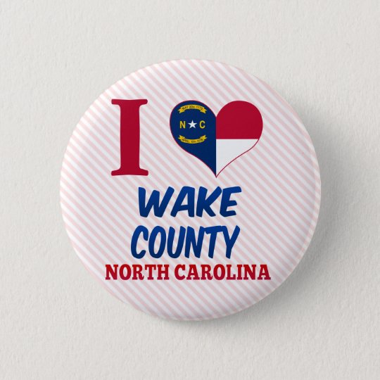 Wake County, North Carolina Button