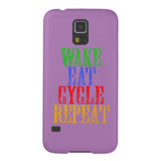 WAKE EAT CYCLE REPEAT GALAXY S5 CASE