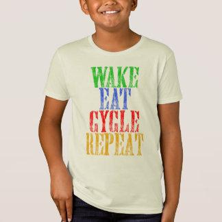 WAKE EAT CYCLE REPEAT T-Shirt