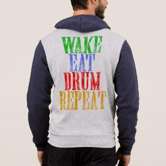 Wake Eat DRUM Repeat Hoodie