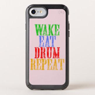 Wake Eat DRUM Repeat Speck iPhone Case