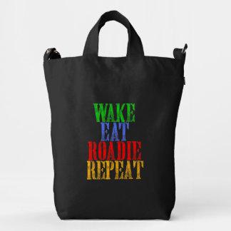 Wake Eat ROADIE Repeat Duck Bag