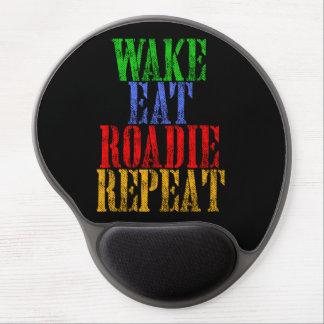 Wake Eat ROADIE Repeat Gel Mouse Pad