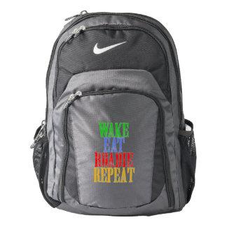 Wake Eat ROADIE Repeat Nike Backpack