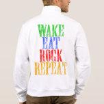 WAKE EAT ROCK REPEAT #3 JACKET