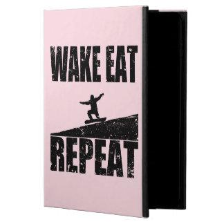 Wake Eat Snowboard Repeat #2 (blk) Powis iPad Air 2 Case