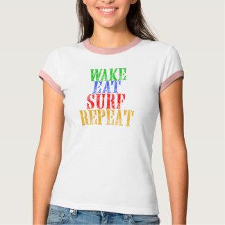 WAKE EAT SURF REPEAT T-Shirt