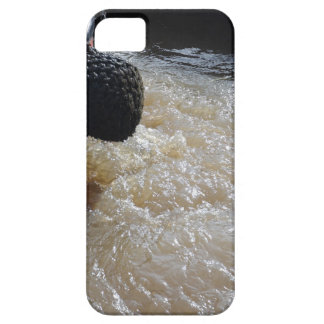Wake From A Canal Boat iPhone 5 Cases
