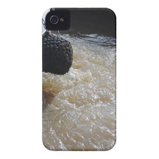 Wake From A Canal Boat iPhone 4 Cover