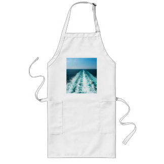 Wake From a Cruise Ship Long Apron