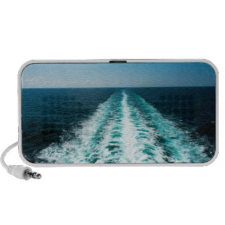 Wake From a Cruise Ship Portable Speaker