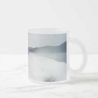 Wake Frosted Glass Coffee Mug