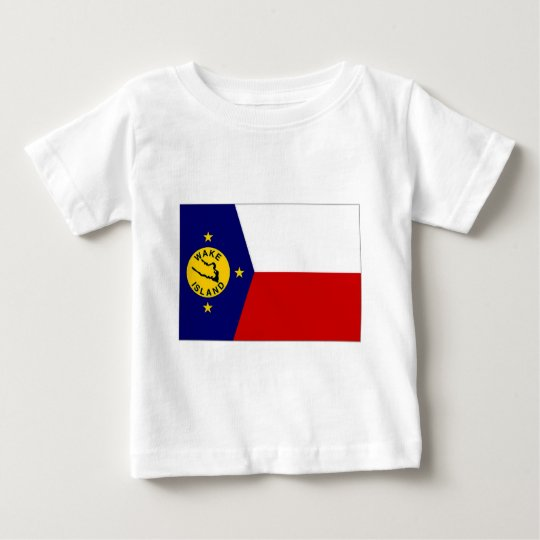 Wake Island Local Unofficial Flag Baby T-Shirt